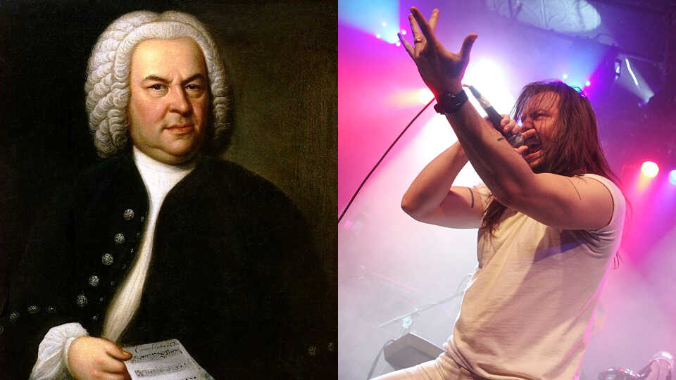 Andrew W.K. Rocks Out ... To Bach