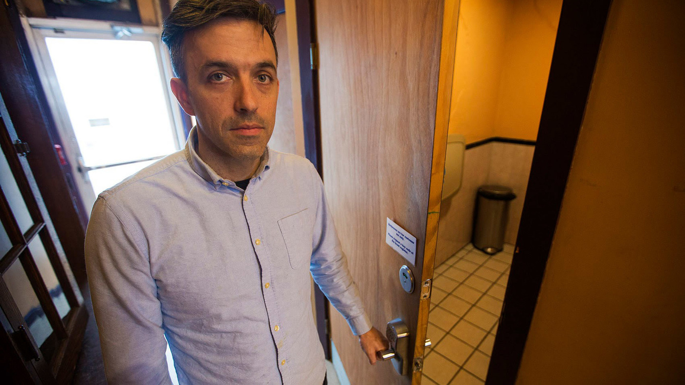 Public Restrooms Become Central To The Opioid Epidemic