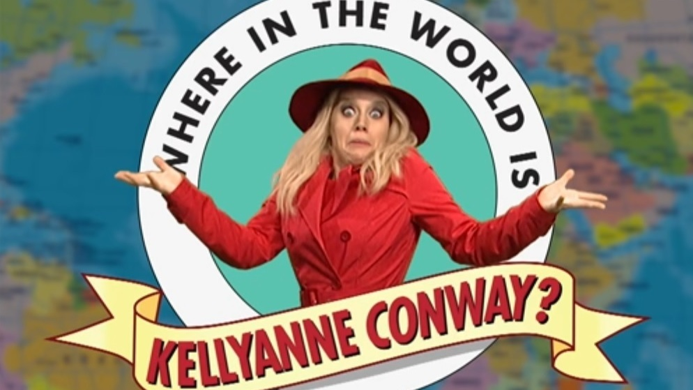 'Morning Joe' Gets Awkward And Kids Search For Kellyanne Conway On 'SNL'