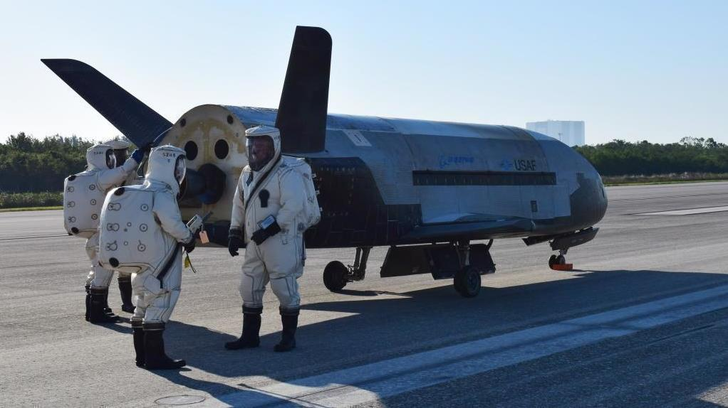 Secret U.S. Space Plane Lands With A Boom In Florida