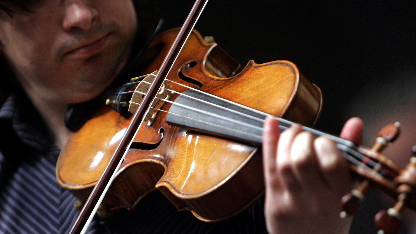 Stradivarius Violins Do Not Project Their Sound Better Study Finds Shots Health News Npr