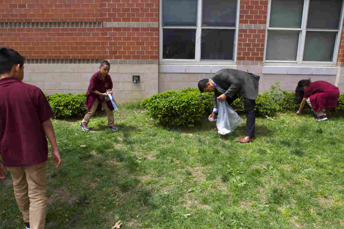 Hall Passes, Buses, Lunch Duty: What If The Principal Could Focus On Achievement?