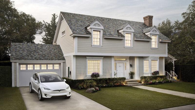 Tesla Solar Panel Roof >> Tesla Begins Taking Orders For Its Solar Energy Roof Tile Systems