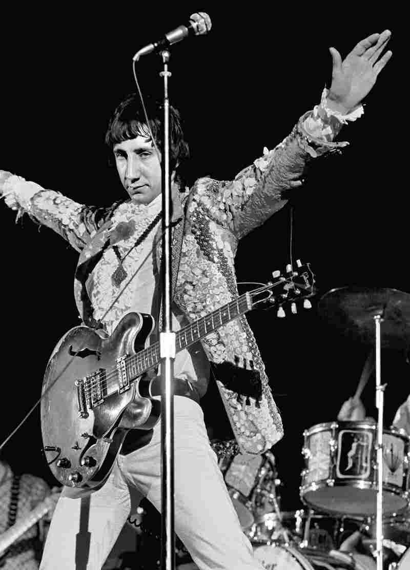 Pete Townshend of The Who performs at the Cow Palace in San Francisco, Calif., photographed for Rolling Stone in 1967.