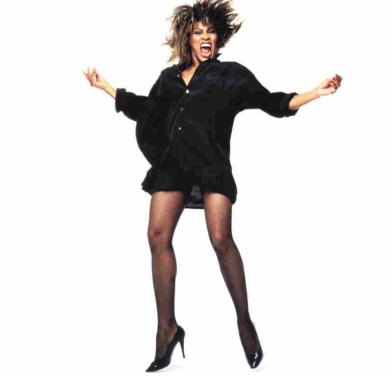 Tina Turner, photographed for Rolling Stone in 1984.