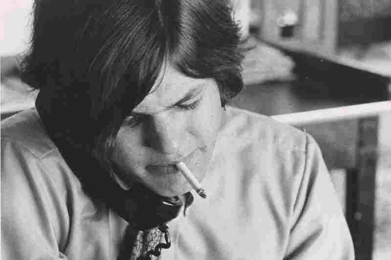 Jann Wenner, pictured in 1968, one year after founding Rolling Stone magazine.