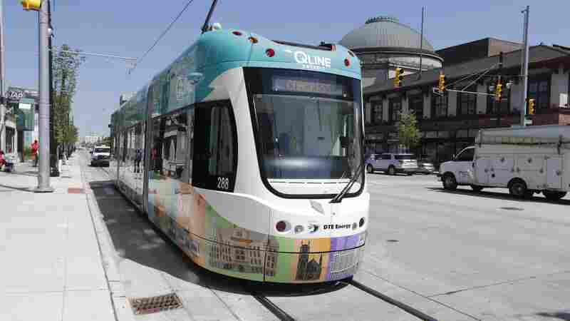 After 61 Years, Detroit Gets A Streetcar Once More