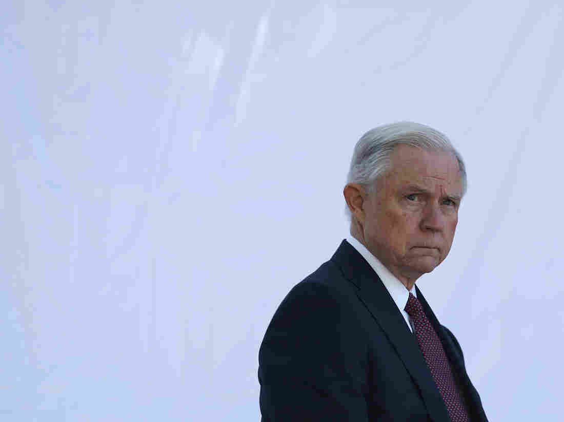 Sessions' Justice Department goes all-in on sentencing