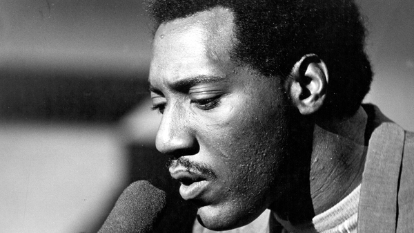 Otis Redding performs on the TV show Ready Steady Go in 1966.