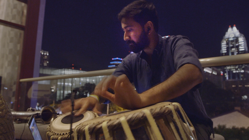 Watch Sarathy Korwar Play A Nighttime Meditation On Tablas And Computer