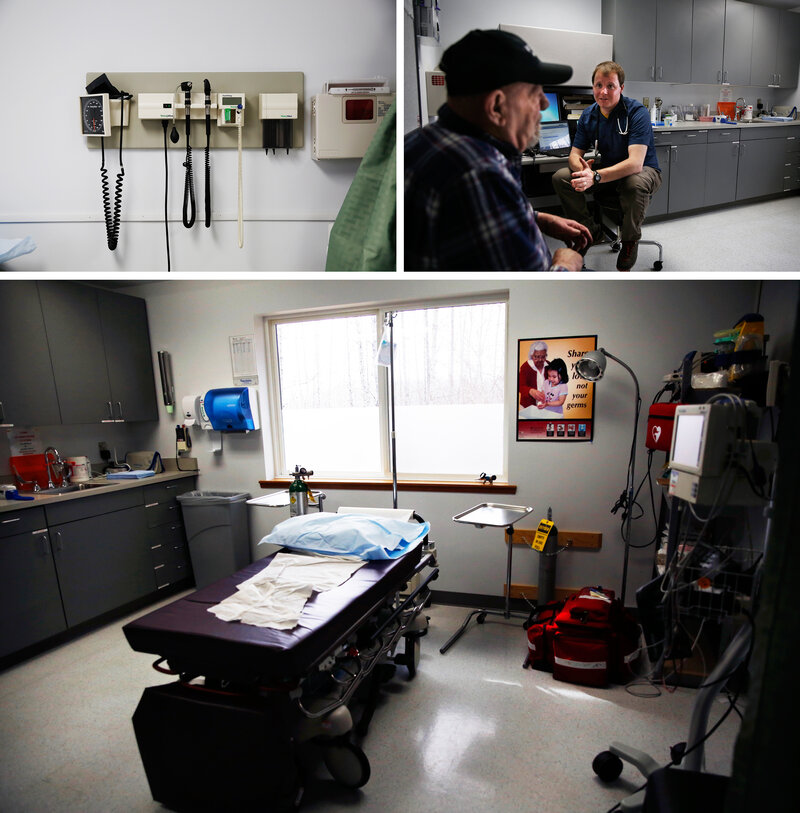 A Young Doctor Tends To His Patients In Rural Alaska : Shots