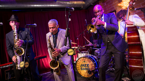 Preservation Hall Jazz Band performs live at Apogee Studio for KCRW.
