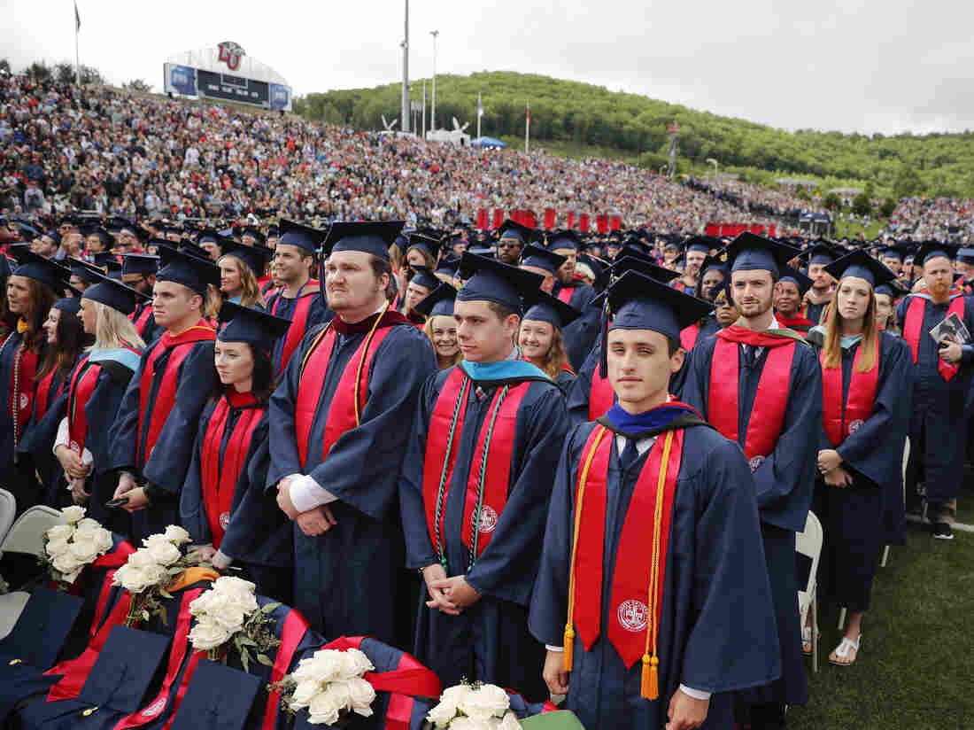 President Trump Addresses Graduates at Liberty University