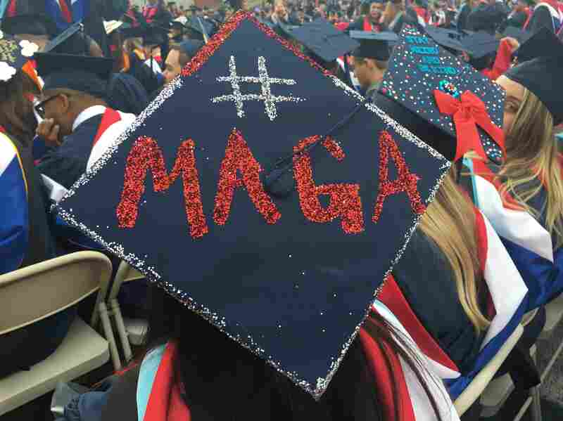 Trump To Liberty University Graduates: Critical Thinking Is Useless