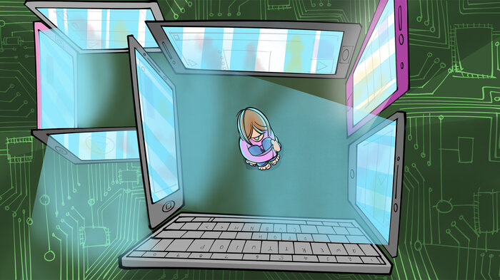 What started out as web surfing for one teen descended into online obsession and isolation.