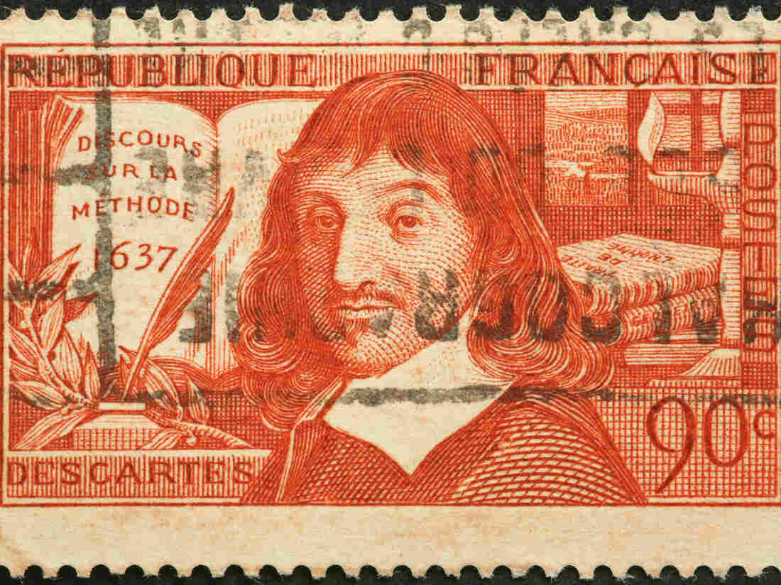 French philosopher and mathematician Descartes.