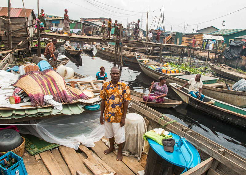 Slum Dwellers In Lagos, Africa's Biggest Megacity, Are Now Living In