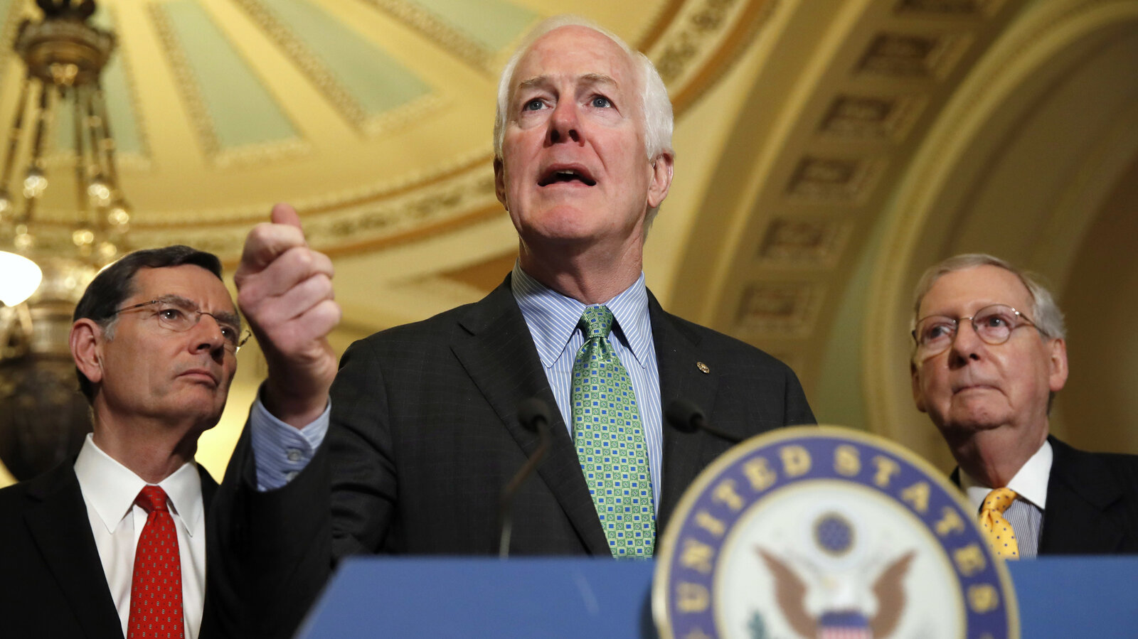 Cornyn and Garland drop out of running for top FBI job