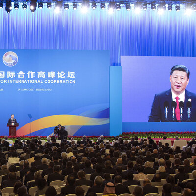 For China's 'New Silk Road,' Ambitious Goals And More Than A Few Challenges