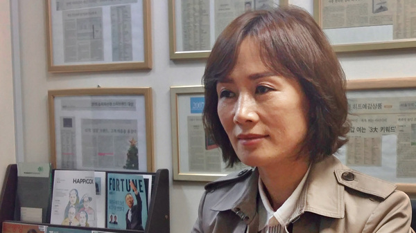 Lee So-yeon, a North Korean defector, used to be a signal corpsman in North Korea