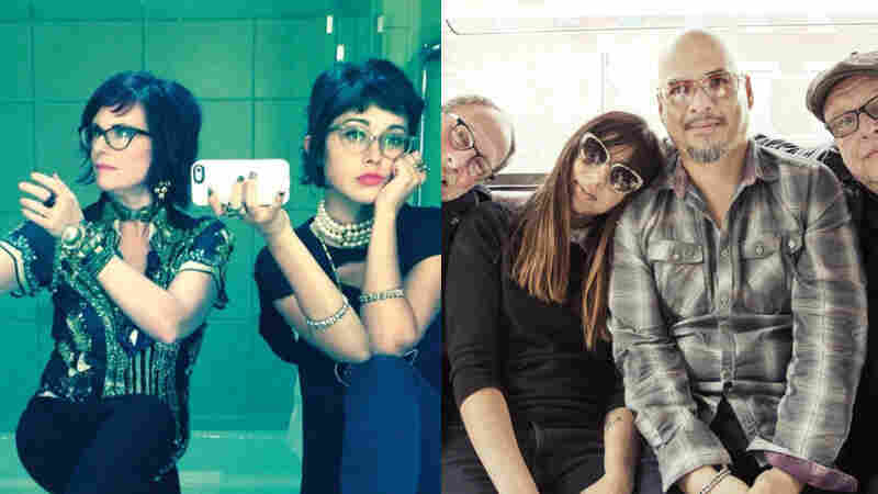 Watch Live: Nancy And Beth, Pixies Perform In Philadelphia