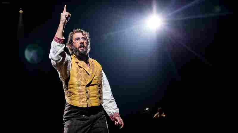 Josh Groban Leaves Big Shoes To Fill In The Tony-Nominated 'Great Comet'