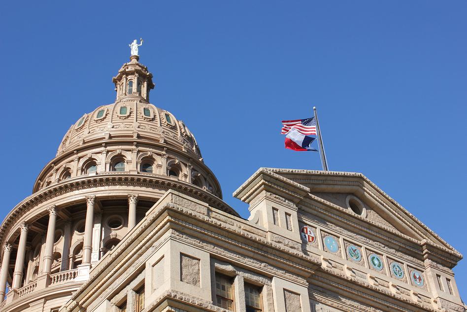 Texas State Capitol in Austin. (Nicolas Henderson/Flickr)