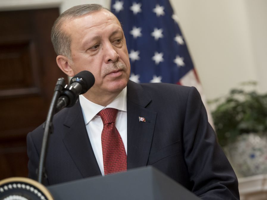 United States decries Washington, DC, brawl during Erdogan's visit