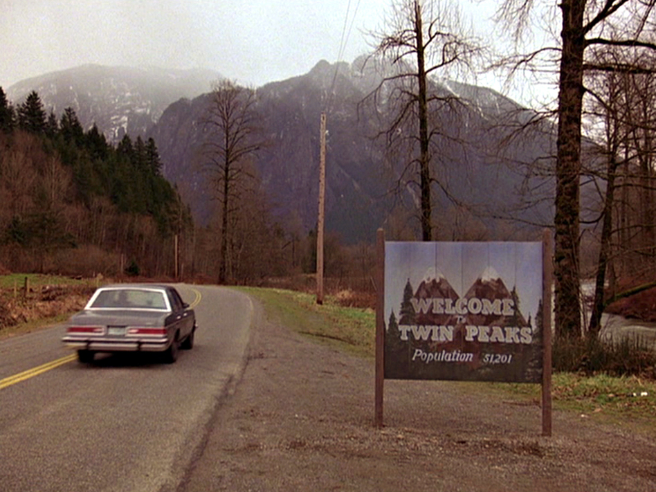"""The """"magical"""" music during the opening credits of <em>Twin Peaks</em>, originally broadcast in 1990, sets the tone for the cult classic. (CBS Photo Archive/Getty Images)"""