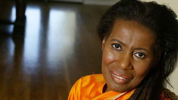The late Alice Coltrane Alice Coltrane Turiyasangitananda, in a portrait taken at her home in California in 2004.