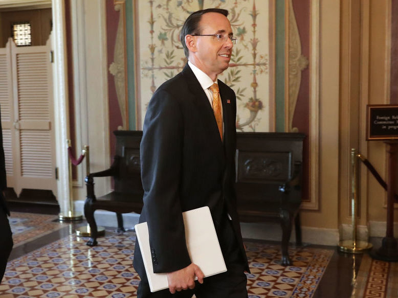 Rosenstein On Comey Memo: 'I Wrote It. I Believe It. I Stand By It.'