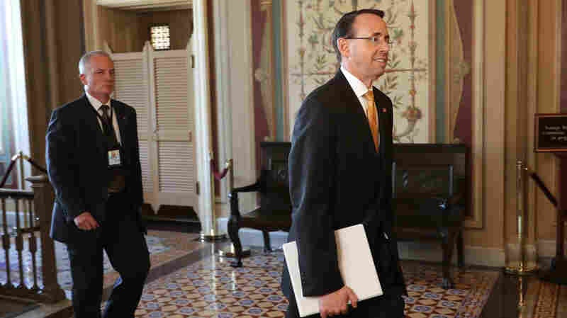 Rosenstein On Comey Memo: 'I Wrote It. I Believe It. I Stand By It'