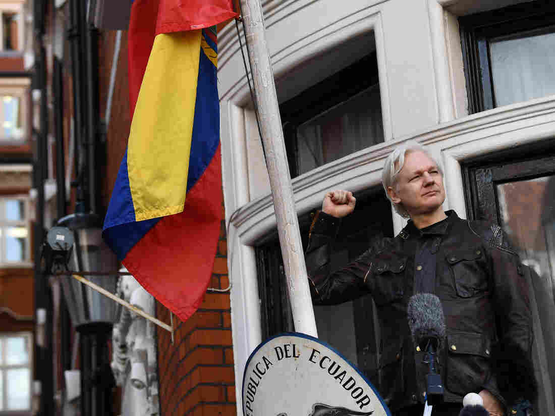 Assange vows to prove Russian Federation did not leak him documents