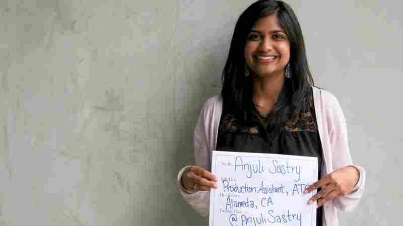 Faces Of NPR: Anjuli Sastry