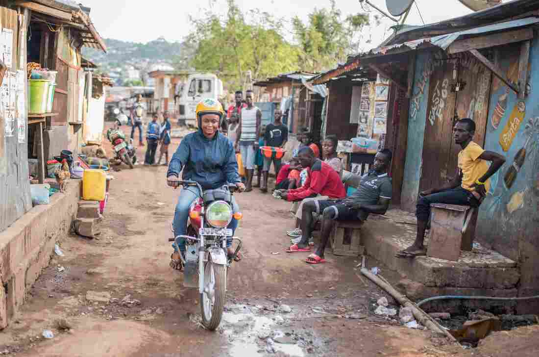A Different Kind Of Pickup: Prostitutes Turn To Driving Motorbike Taxis