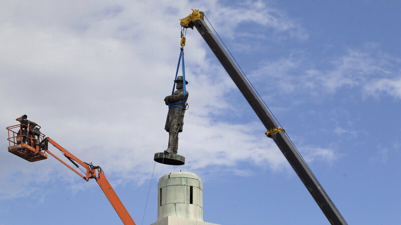 New Orleans Confederate Statues' Removal Ends A Long-Running ...