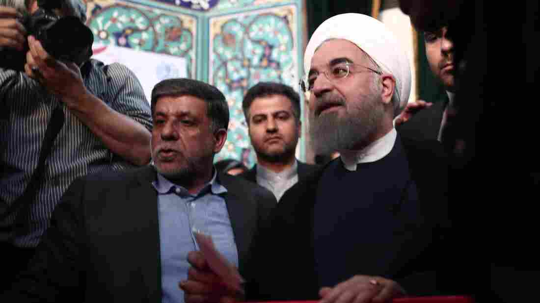 Iran's President Hassan Rouhani Wins Re-Election – NPR