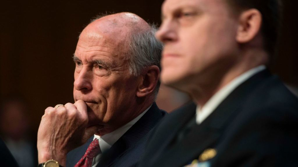 Intelligence chief won't disclose private conversations with Trump