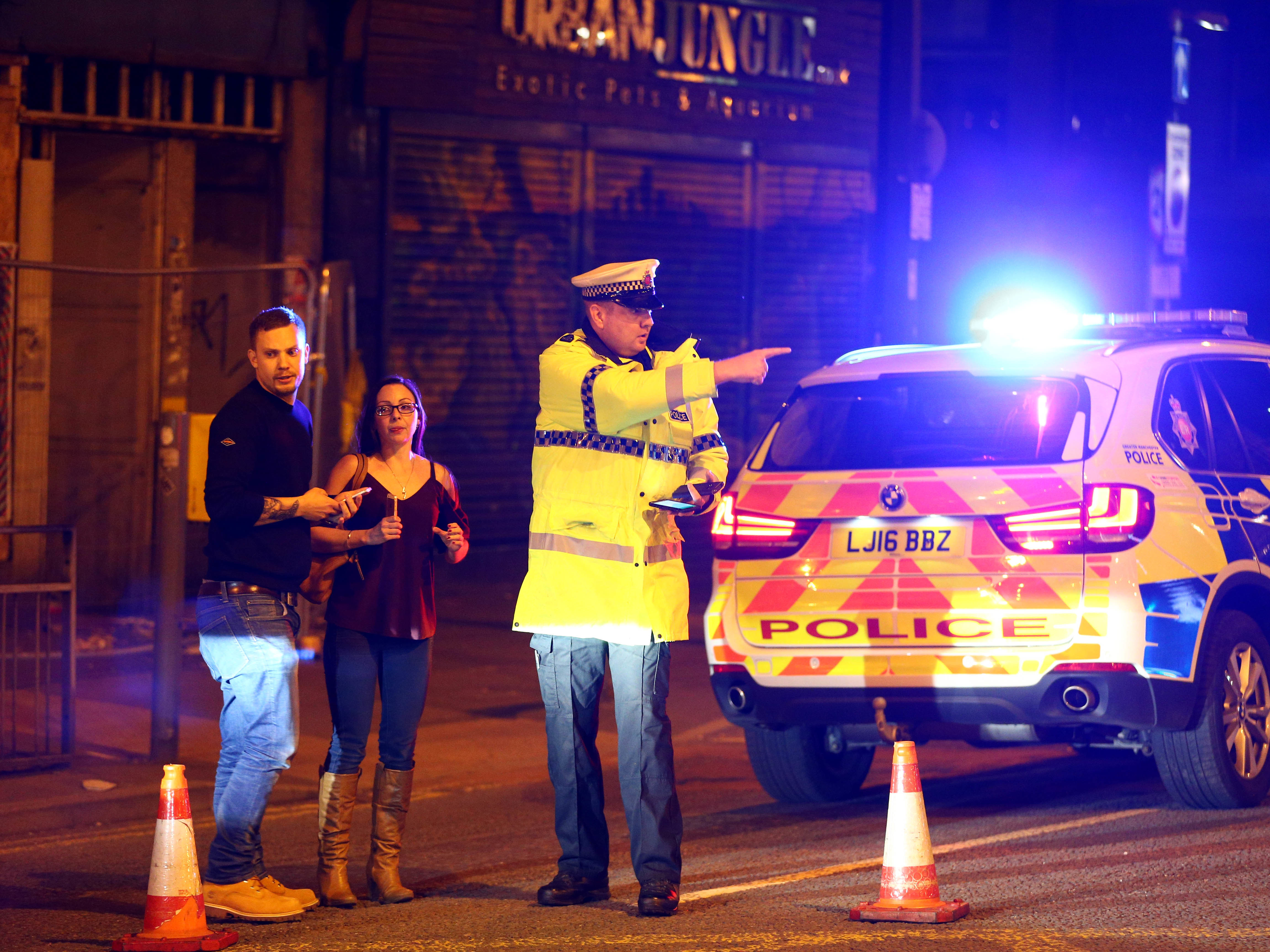United Kingdom police say 23-year-old man arrested over Manchester attack