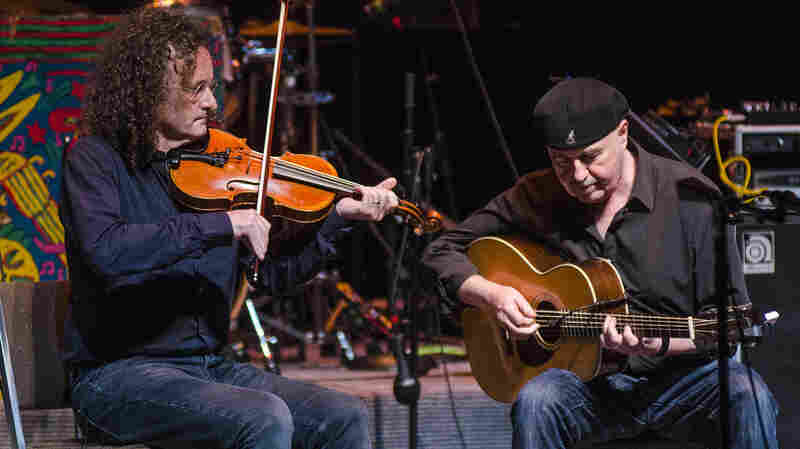 Martin Hayes And Dennis Cahill On Mountain Stage