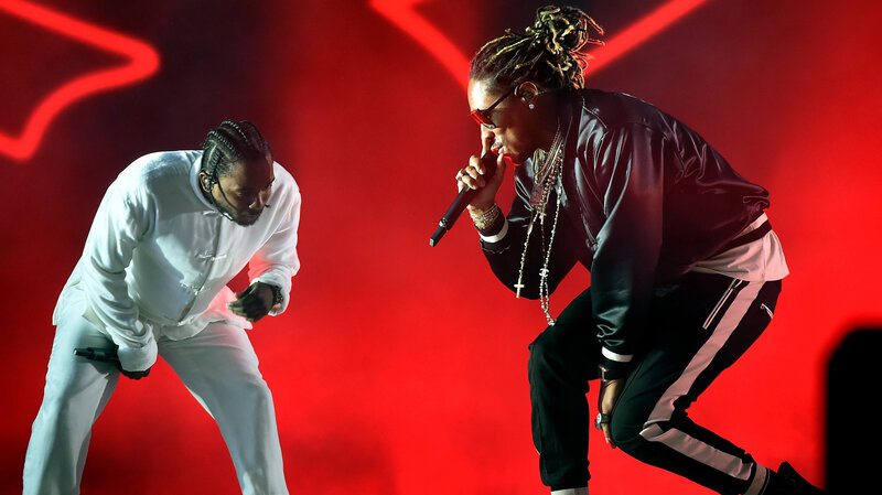 Kendrick Lamar Takes His 'Mask Off' On New Future Remix : All Songs
