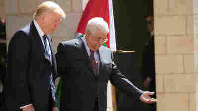 'Peace Is A Choice,' Trump Says During Appearance With Palestinian Leader