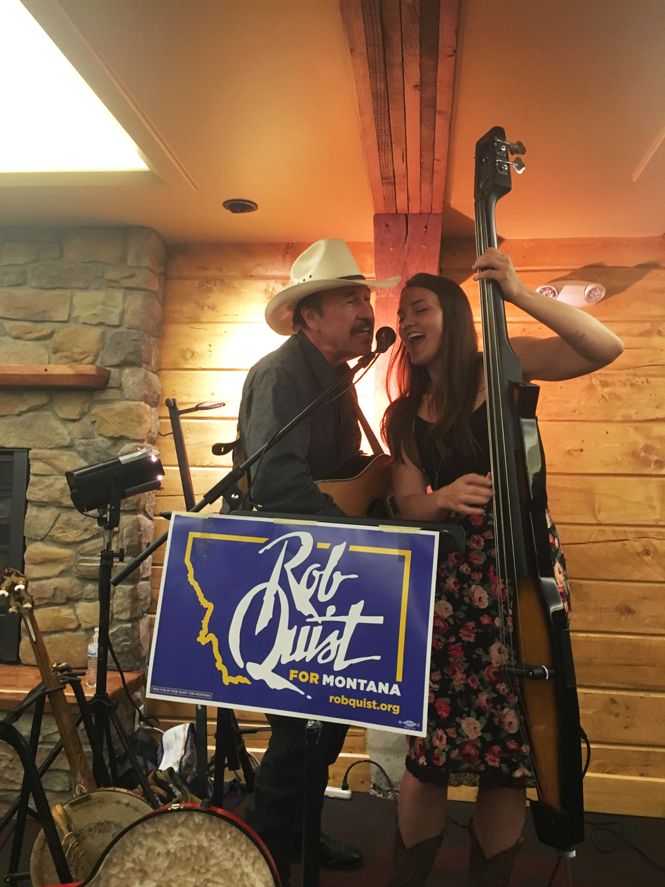Rob Quist is the Democrat running in the Montana special election. (Don Gonyea/NPR)