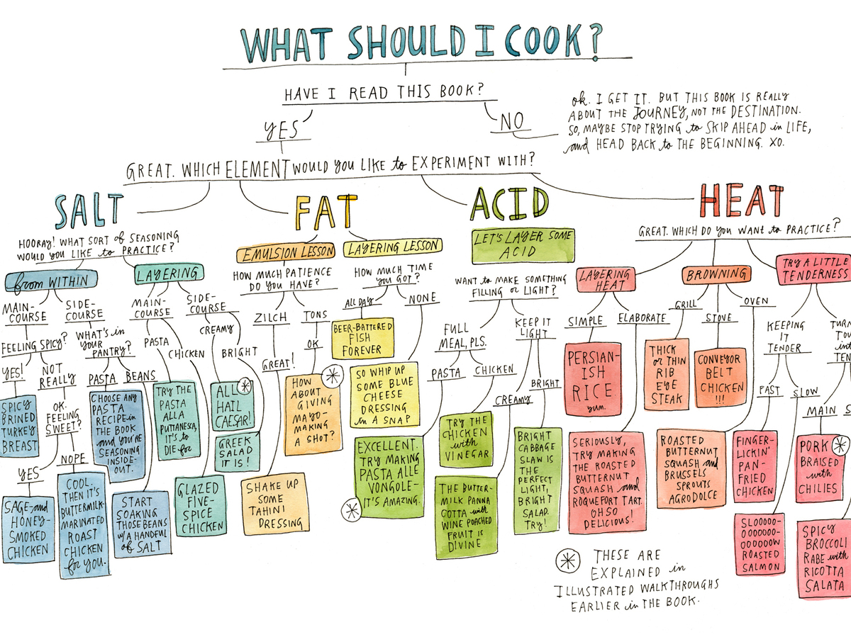Salt Fat Acid Heat An Illustrated Guide To Master