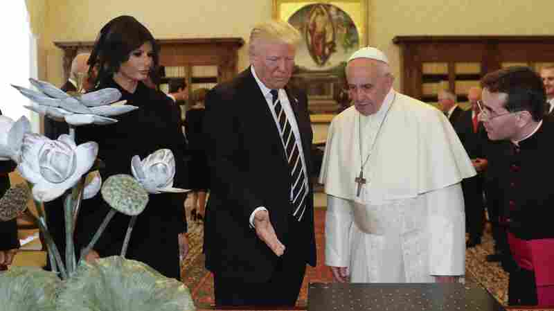 'We Can Use Peace,' President Trump Says After Exchanging Gifts With Pope
