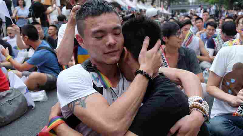 Taiwan's High Court Rules Same-Sex Marriage Is Legal, In A First For Asia