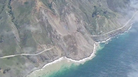 A weekend landslide has reshaped the California coastline and closed a section of scenic Highway 1 near Big Sur.