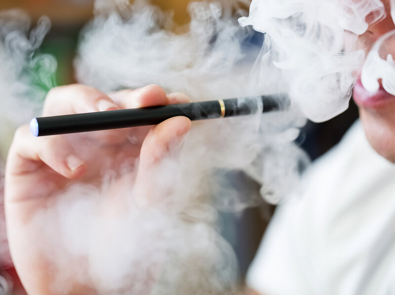 Adults Don't Think Exposure To Secondhand Vapor From E