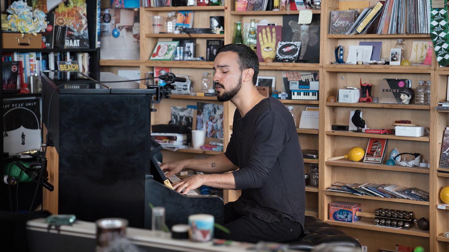 Gabriel Garzón Montano Tiny Desk Concert Npr