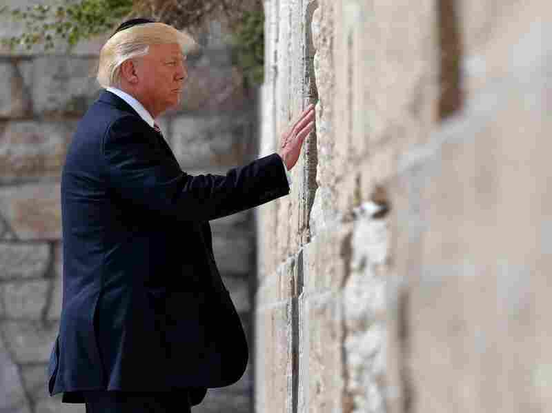 Trump Avoids Major Slips On International Religious Tour